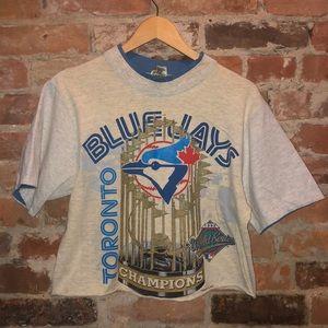 Vintage Toronto Blue Jays Championship T-shirt MLB